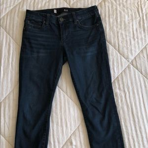 Dark wash kut from the kloth skinny jeans